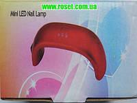 Миниатюрная лампа для сушки ногтей Mini Led Nail Lamp