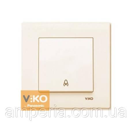 Кнопка  звонка крем ViKO Karre 90960106