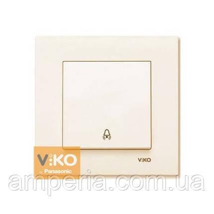 Кнопка  звонка крем ViKO Karre 90960106, фото 2