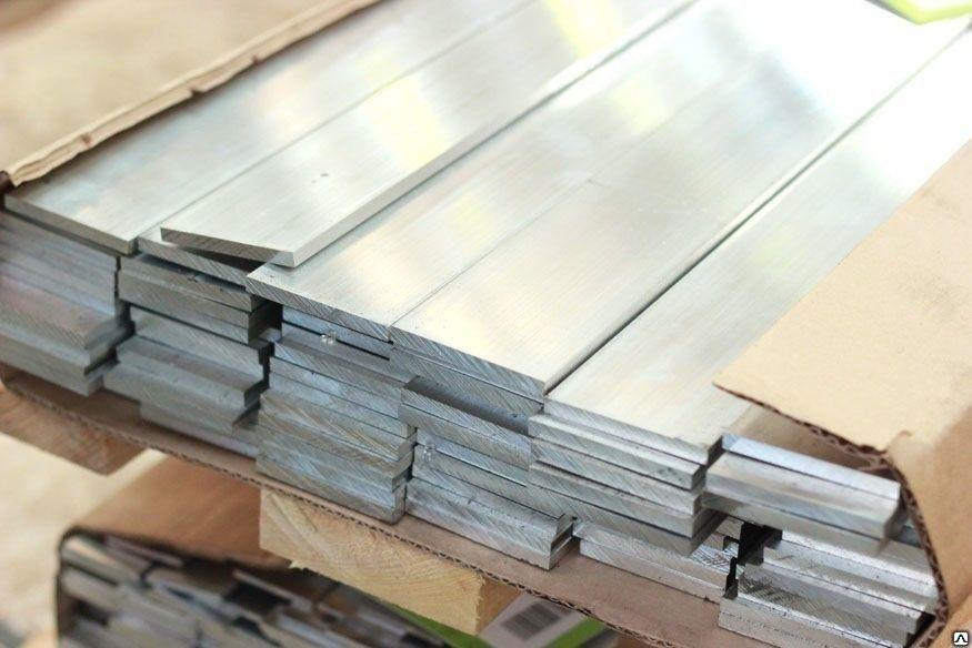 Алюминиевая полоса (шина) 80 мм 6082 (АД35Т)
