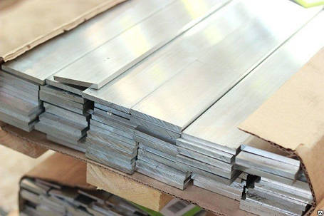 Алюминиевая полоса (шина) 80 мм 6082 (АД35Т), фото 2