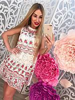 Платье женское из органзы