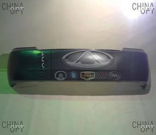 Бампер задний, пластик черный, не крашенный, Geely CK1 [до 2009г.], 1801519180, Original parts