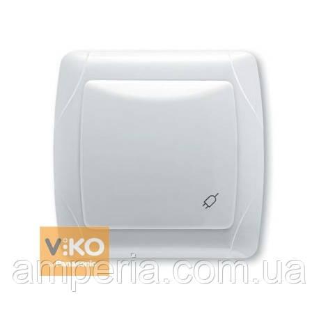 Розетка с крышкой и шторками ViKO Carmen 90561012