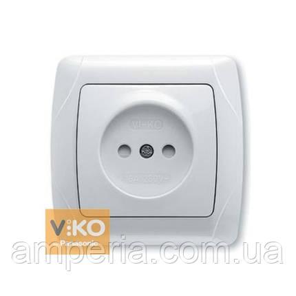 Розетка с шторками без заземления ViKO Carmen 90561043, фото 2