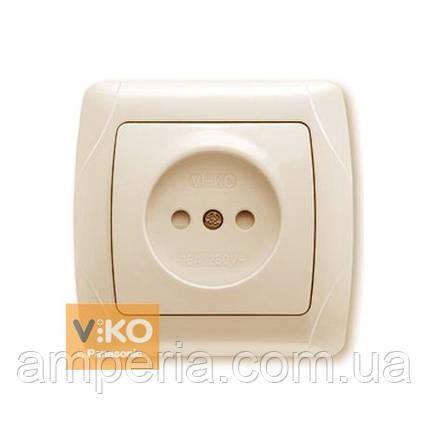 Купить Розетка с шторками без заземления ViKO Carmen 90562043 ... efa0c5291f3