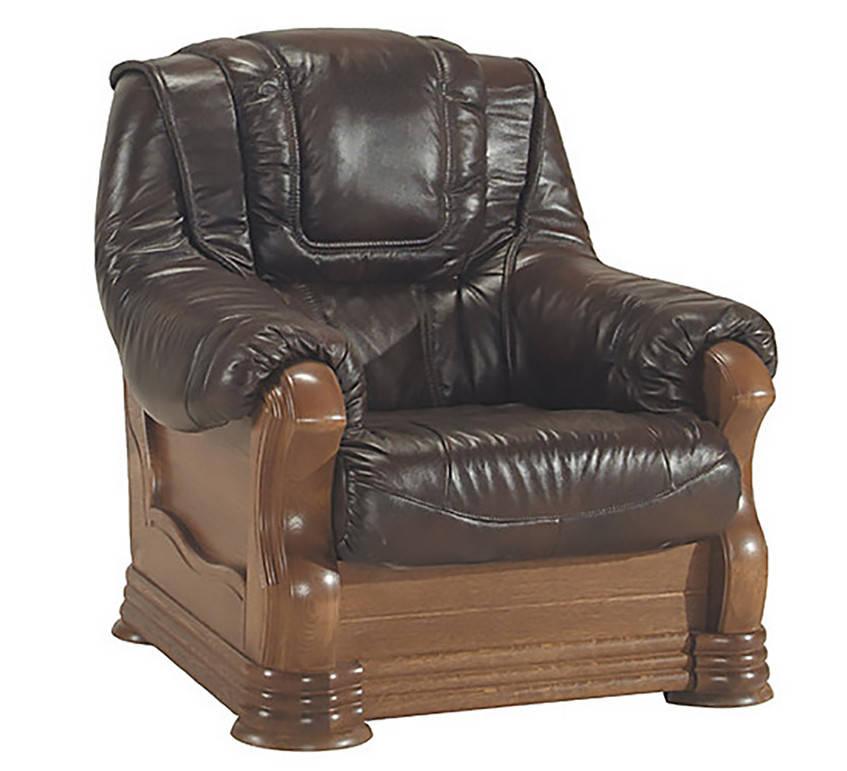 Польское кожаное кресло ANETA I, II (90 см)