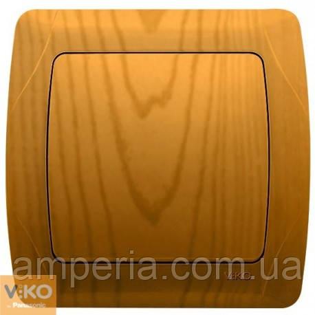 Выключатель 1 кл. бронза Decora 93010601