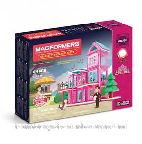 Магнитный конструктор Magformers Мой милый дом 64 эл., фото 2