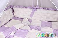 Комплект в кроватку из сатина
