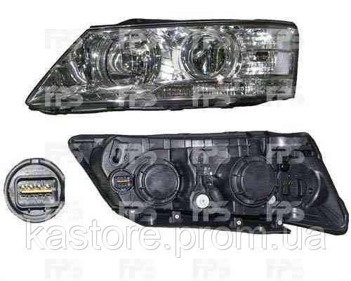 Фара передняя для Hyundai Sonata 08-10 правая (DEPO) под электрокорректор