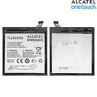 Батарея (акб, аккумулятор) TLp025DC для Alcatel One Touch 8050D Pixi 4 (6) Dual Sim, 2580 mah, оригинальный