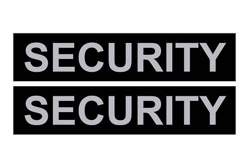 Сменная надпись «SECURITY» для шлеи и ошейника DogExtremе Police N 3, 4, 5