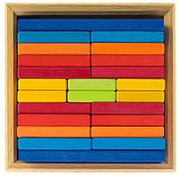 Яркие строительные деревянные пластины nic NIC523346