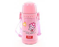 Термос детский Calve CL-1728-Р(Розовый), 600 мл