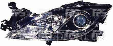 Фара передняя для Mazda 6 08-10 левая (DEPO) механическая/под электрокорректор