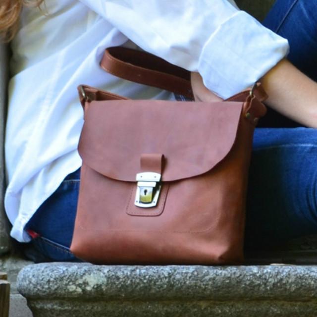 Компактные сумки через плечо
