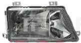 Фара передняя для Mercedes Sprinter 95-00 правая (DEPO) пневматическая Н1+Н1+Н1