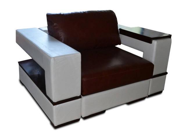 Шкіряне крісло Герцог, фото 2