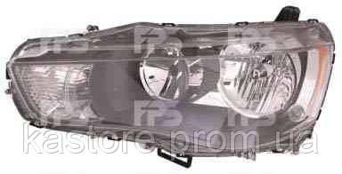 Фара передняя для Mitsubishi Outlander 10- правая (DEPO) под электрокорректор
