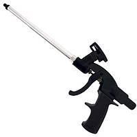 Intertool PT-0605 Пистолет для монтажной пены с тефлоновым покрытием иглы, трубки и держателя баллона + 4 нас.