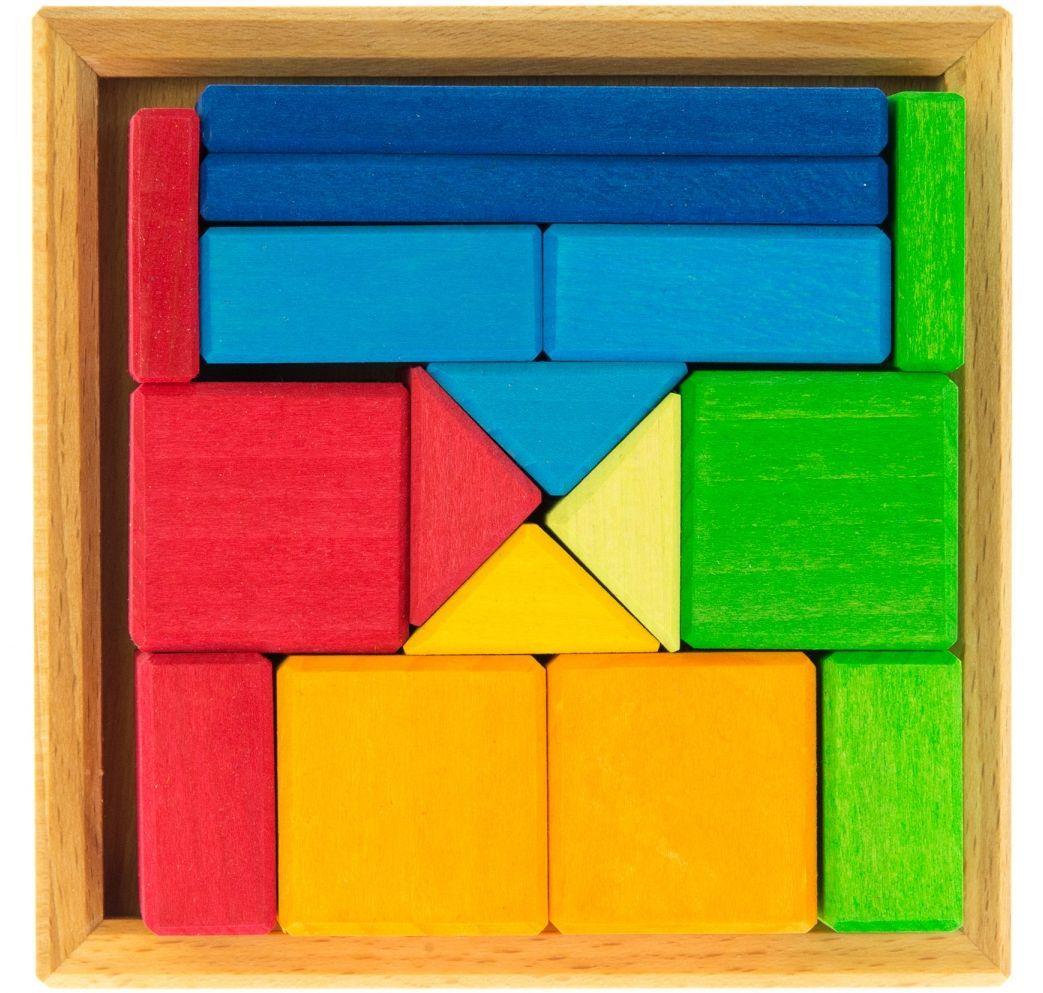 Яркий деревянный конструктор для детей nic  NIC523343