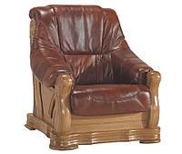 Новое кожаное кресло FRYDERYK I (90 см)