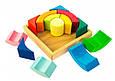 Креативный детский деревянный конструктор Разноцветный круг nic  NIC523344, фото 3