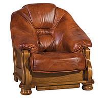 Мягкое кожаное кресло LORD (95 см)