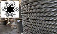 Канат (трос) стальной диаметр 15,0 мм ГОСТ  3077-80 от ГОСТ МЕТАЛЛ