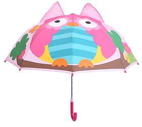 """Дитячий парасольку 3D вушка """"Сова"""""""