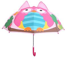 """Детский зонтик 3D ушки """"Сова"""""""