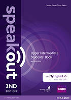 Учебник Speakout 2nd Upper-Intermediate SB+DVD Pack & MyLab