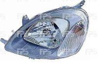 Фара передняя для Toyota Yaris 99-02 левая (DEPO) под электрокорректор