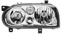 Фара передняя для Volkswagen Golf III 91-97 правая (HELLA) H7+H7