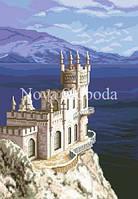 Рисунок на канве для вышивки нитками мулине ММ-3014 Ласточкино гнездо