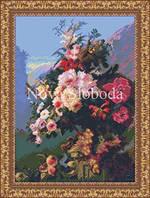 Рисунок на канве для вышивки нитками мулине ММ-3067 Ренесанс