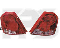Фонарь задний для Chevrolet Aveo (Т200) хетчбек 04-06 левый (DEPO)