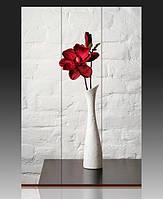 Ширма Белая ваза с красным цветком