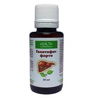 Гепатофит Форте - капли для очищения и восстановления печени, натуральное лекарство для печени, от гепатита