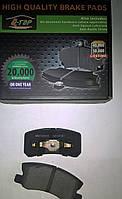 Тормозные колодки задние  Mitsubishi Outlander XL, Grandis, Pajero Vagon (араб)