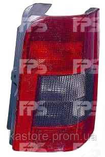 Фонарь задний для Citroen Berlingo 97-02 левый (DEPO) 2 двери, дымчатая вставка