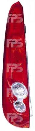 Фонарь задний для Ford Fiesta 06-08 левый (DEPO) 5 дверная