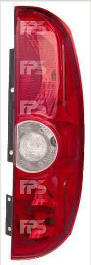 Фонарь задний для Fiat Doblo 10- левый (DEPO) 2 двери