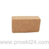 Блок для йоги пробковый YOGA BRICK 22,9×15,2×7,6 см