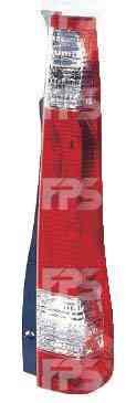 Фонарь задний для Honda CR-V 02-06 правый (DEPO) красно-белый