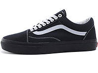 Мужские кеды Vans Old Skool Air Low Black