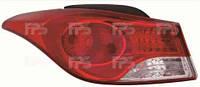 Фонарь задний для Hyundai Elantra MD 11- левый (DEPO) внешний