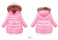 Зимний куртка на девочку.Пуховик на девочку, фото 1