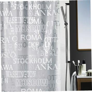 Шторка для ванной «CITIES»